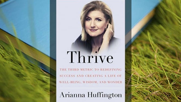 Thrive Book Ariana Huffington