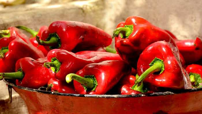 Foods for Healthy Skin - Red Bell Peppers
