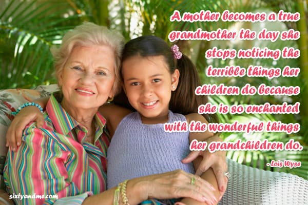 Grandmother Quotes - The Wonderful Things Grandchildren Do