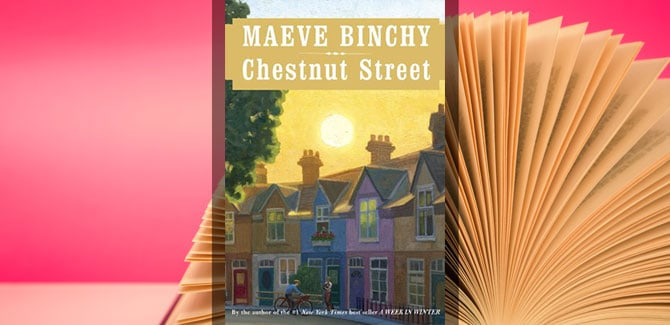 Sixty and Me Book Club - Chestnut Street by Maeve Binchy
