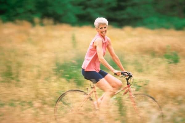 Workouts-for-Older-Women-Biking