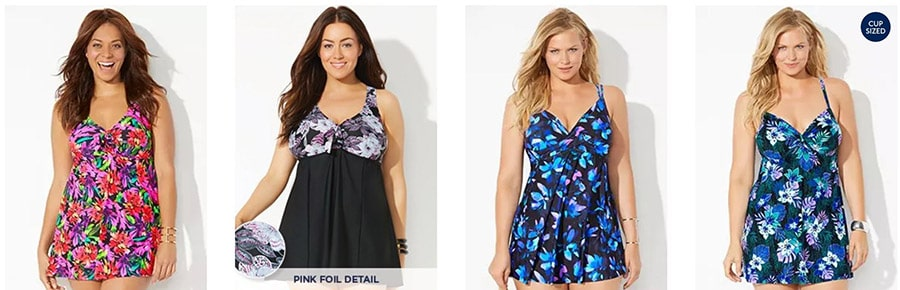 Flattering Bathing Suits Swimsuits for Older Women