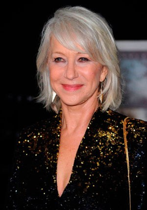 Hairstyles for Older Women - Hellen Mirren