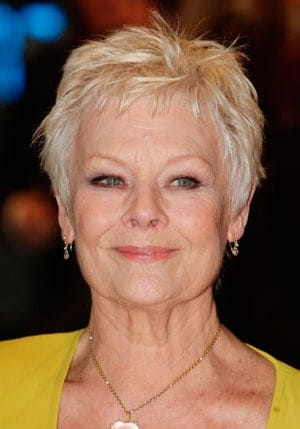 Hairstyles-for-Older-Women---Judi-Dench