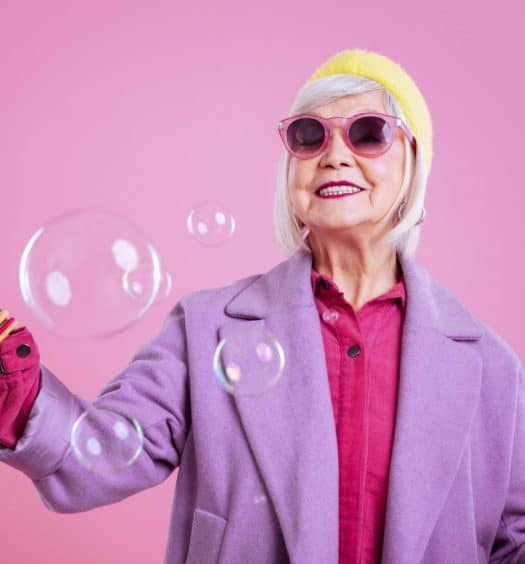 Color Selection is Essential to Fashion for Older Women
