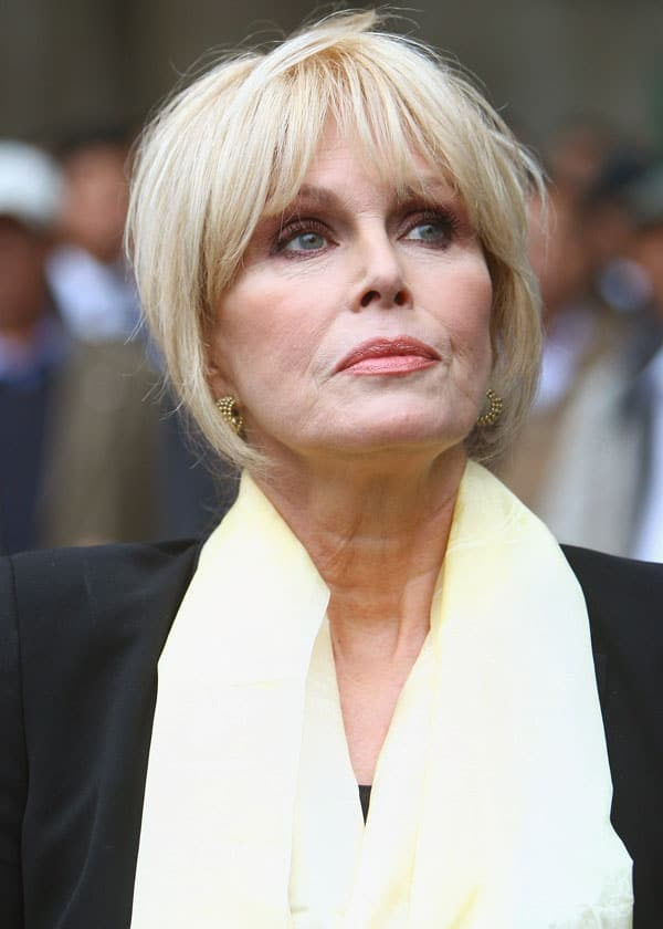 Actresses Over 60 - Joanna-Lumley