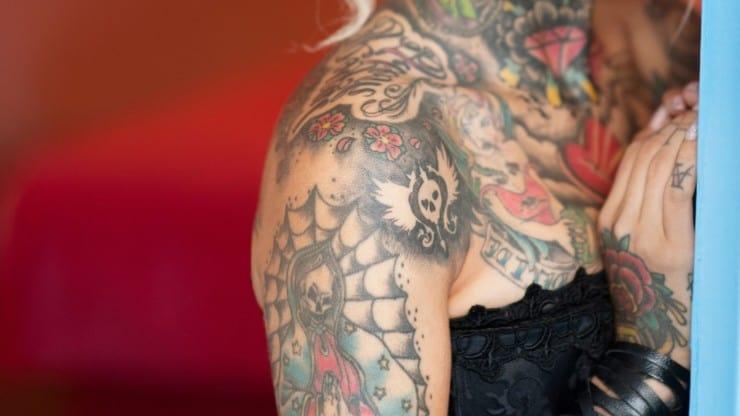 Tattoos for Older Women