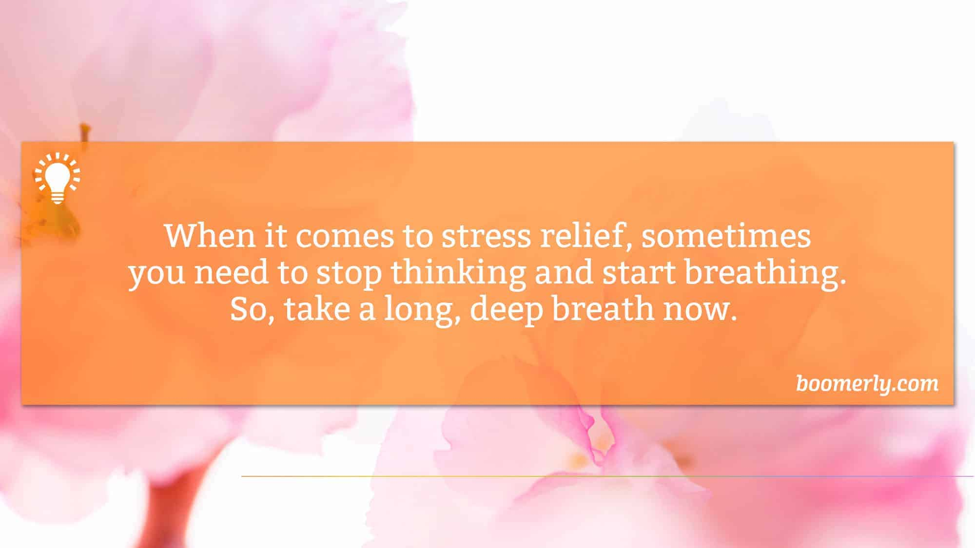 Better Breathing Can Help You to Reduce Stress