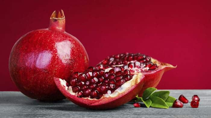Happy Foods - Eat your way to happiness: Give yourself a pomegranate pick-me-up