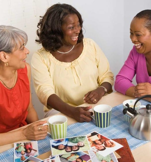 What is Friendship - Older Women Chatting