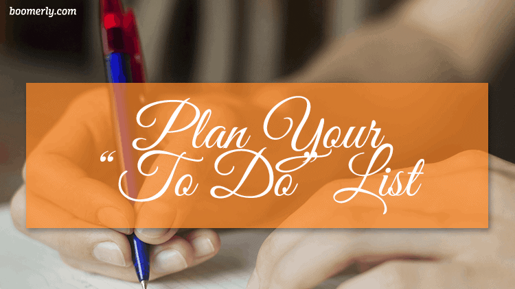 """How to Stay Happy and Positive After 60: Plan Your """"To Do"""" List"""