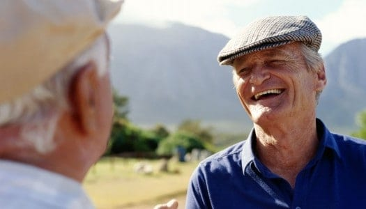 """New Study Shatters the Aging Stereotype of the """"Grumpy Old Man"""""""