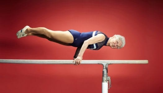 This 89-Year-Old Gymnast Proves that it's Never Too Late to Follow Your Dreams