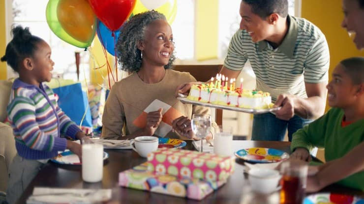 Turning 60 - Woman on Her 60th Birthday