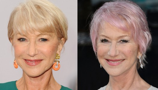 Hairstyles for Women Over 60: What Do You Think of Helen Mirren's Pink Hair?