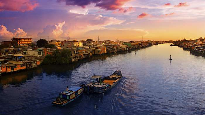 Adventure Cruises - Mekong river
