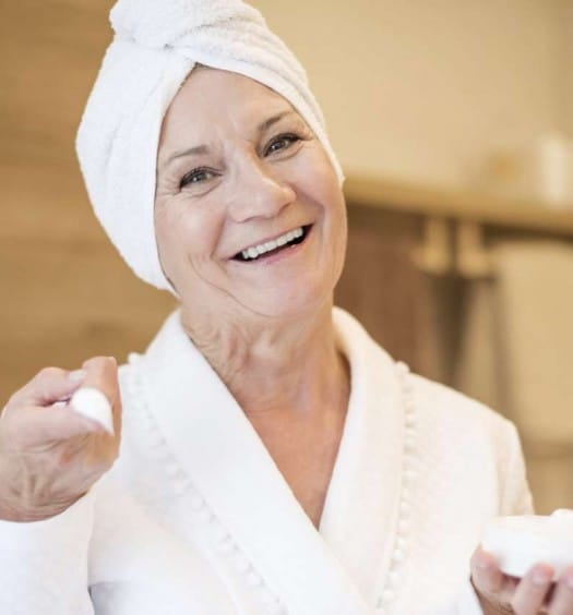 Sixty and Me - Celebrity Makeup Tips for Older Women - The Secrets of Aging Skin