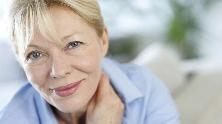 Sixty and Me - Fall Makeup Tips for Older Women - How to Use Navy and Green