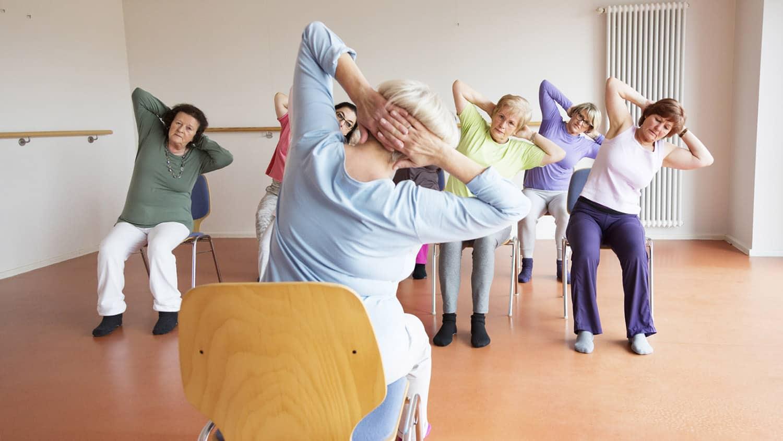 Chair Yoga Poses Elderly
