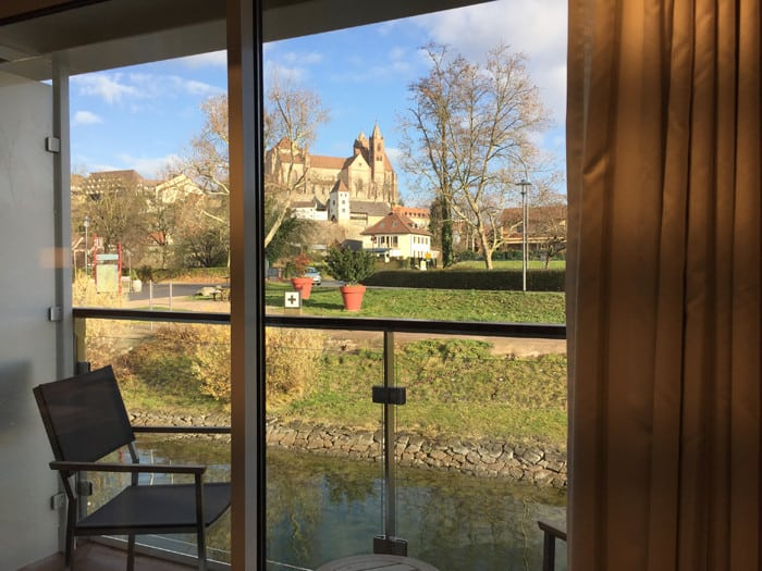 river cruises - View from my window in Breisach, Germany