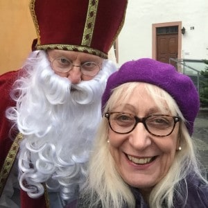 Viking Cruise Saint Nikolas and Margaret Selfie