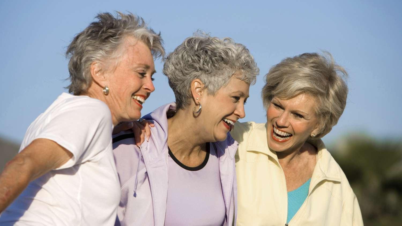 Adult friendship older