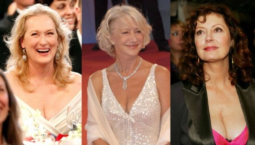 Are Older Women Showing Too Much Skin?