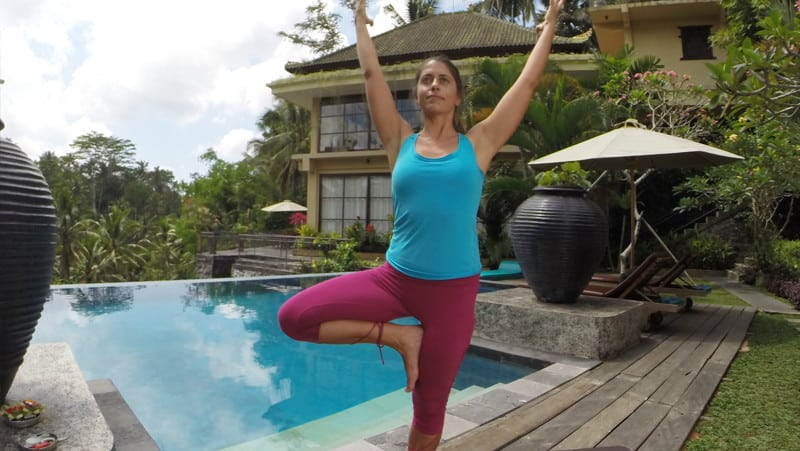 Yoga for Osteoporosis - Tree Pose