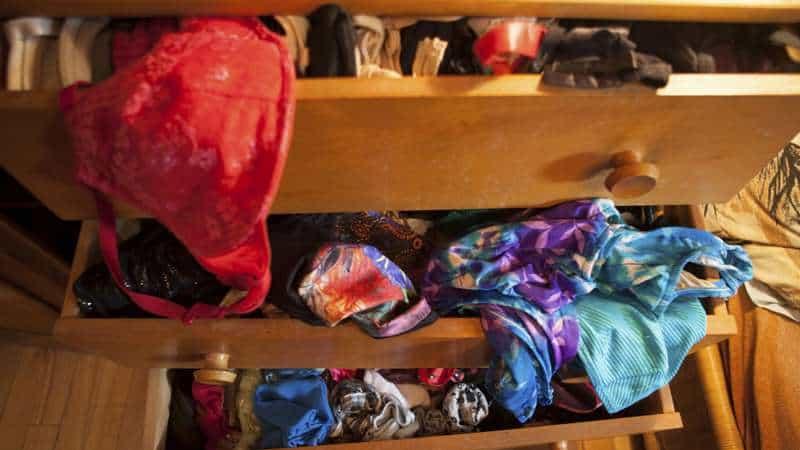 Junk clutter drawer