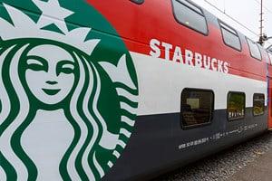 Starbucks Train