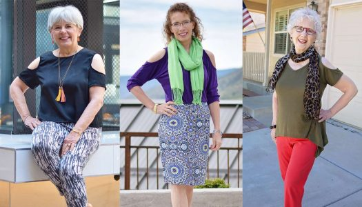 Open Shoulder Shirts and Summer Fashion for Women Over 60