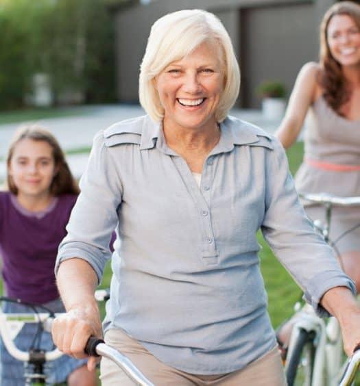 Biking with Grandkids