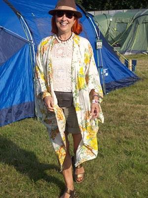 Suzi Grant Glastonbury Festival