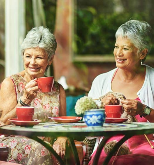 How to make friends as an older adult