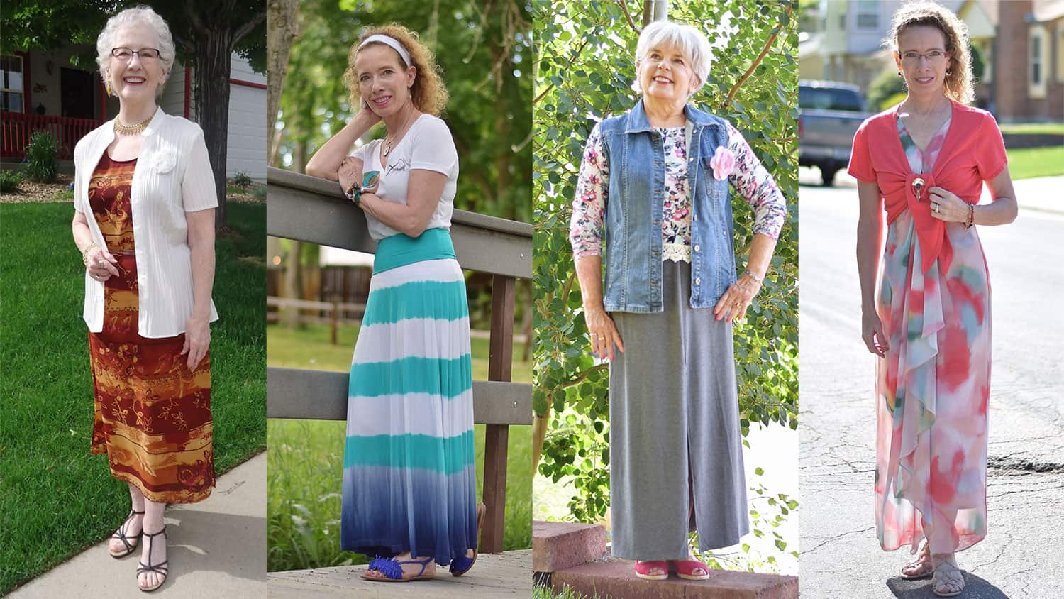 Maxi Dresses and Summer Fashion for Women Over 4  Sixty and Me