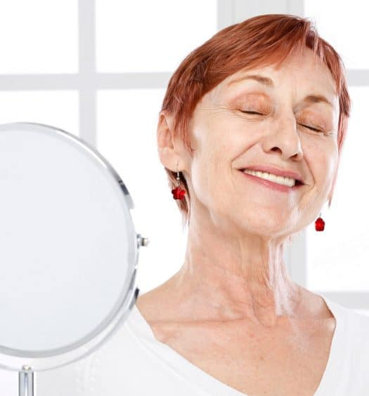 Women Over 60 Need a Magnifying Mirror
