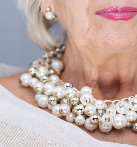 fashion for women over 60 - accessories