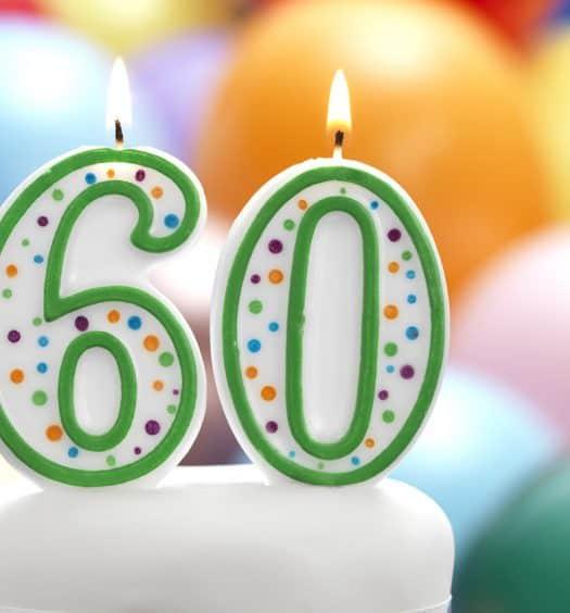 turning 60