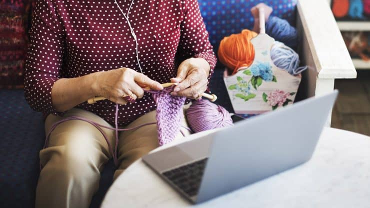 Knitting courses online