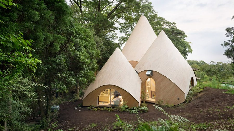Japanese Retirement Home Teepee