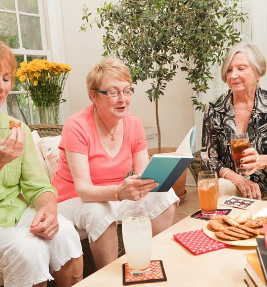 Senior Women Start a Book Club