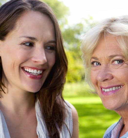 Senior woman advice to younger women
