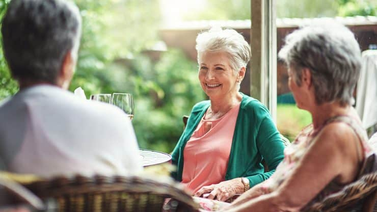 Senior Woman Healthy Relationships