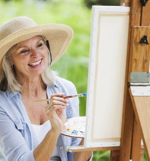 Senior Woman How-to-Paint