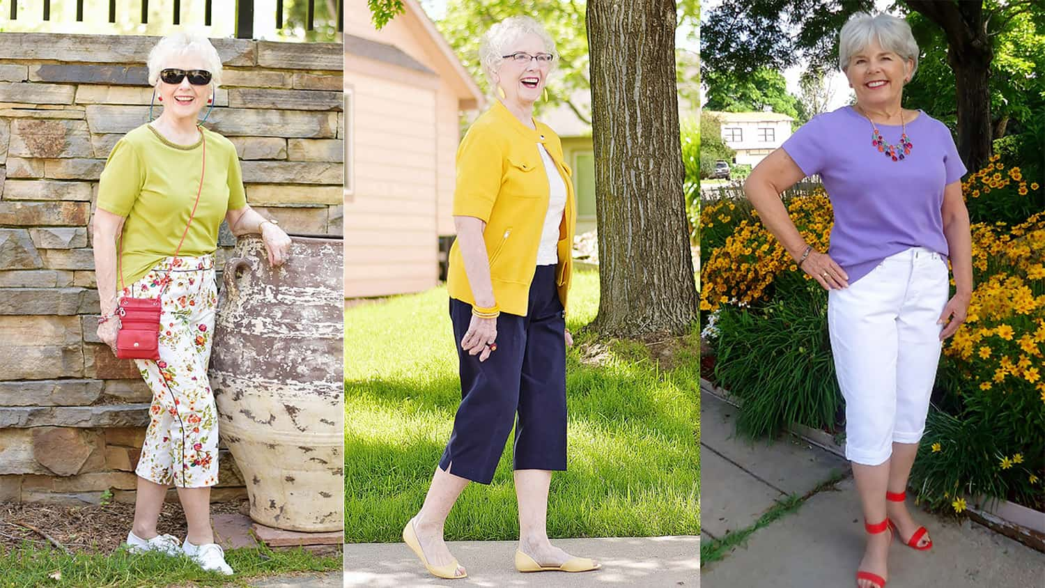 Fashion for Older Women: Capri Pants for the Summer Months | Sixty ...