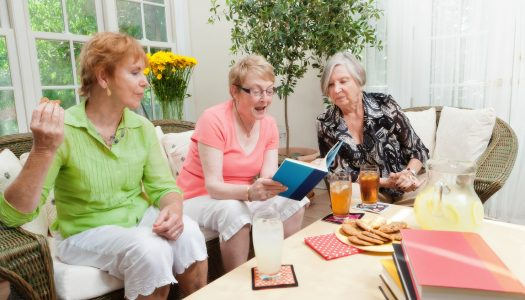 You Are Never Too Old to Join a Book Club!