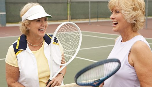 5 Tips for Continuing to Play Tennis as You Age