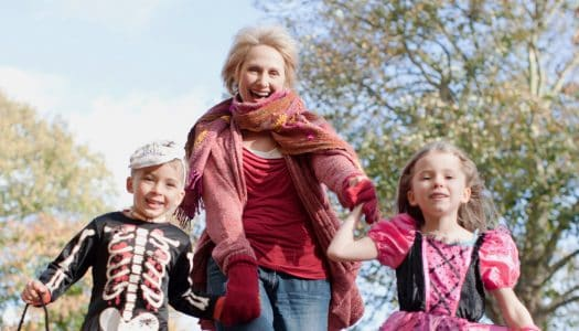 How to Have a Happy Halloween Supper with the Grandkids