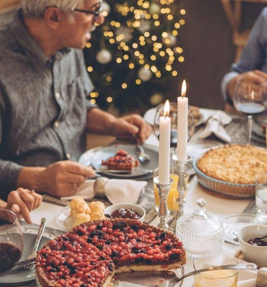 older woman weight loss holidays