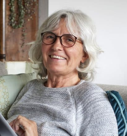 senior woman new identity after 60